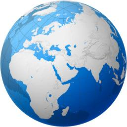 transparent-globe--africa-and-eurasia-cartesia
